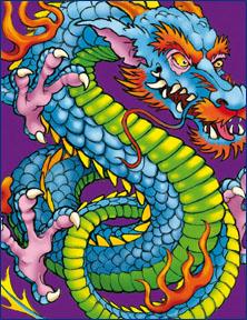 Custom Dragon Tattoo